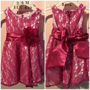 Other - Pink baby dress